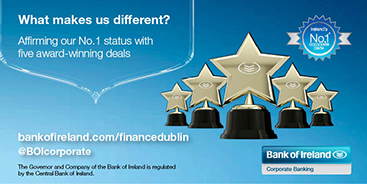 Bank of Ireland Corporate and Treasury with five award-winning deals