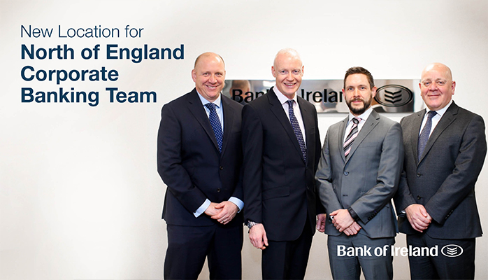 Corporate Banking Northern England Team Moves to New Office in Manchester